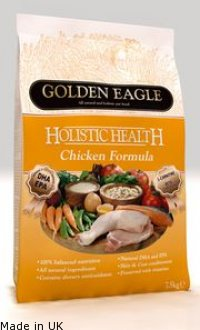 Golden Eagle Holistic Health<br />Chicken Formula 26/15