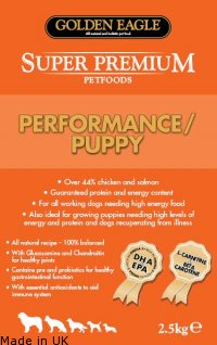 Golden Eagle Super Premium<br />Performance/Puppy 30/20