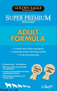 Golden Eagle Super Premium<br />Adult Formula 25/15